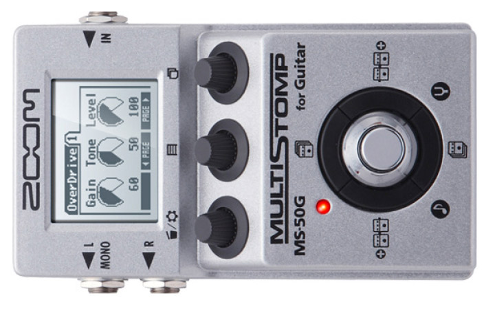 ZOOM - MS50-G: Multi Stomp per chitarra