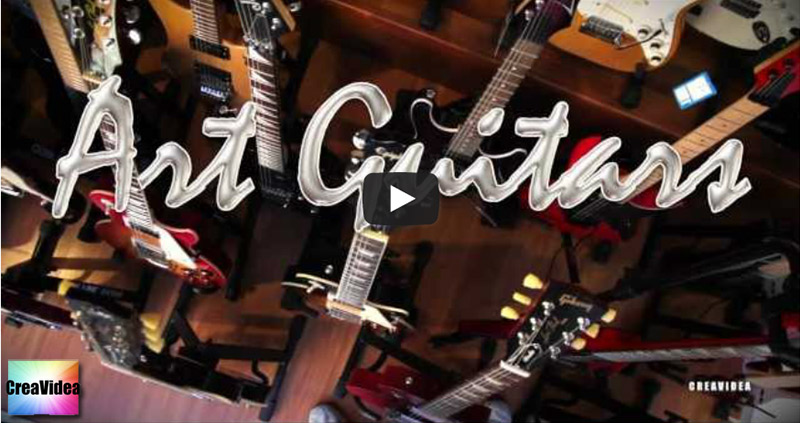 Video Promo by Creavidea Shots & Editing | Art Guitars